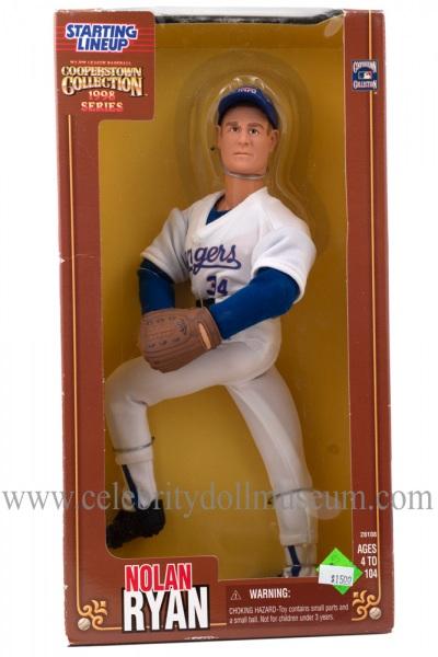 Nolan Ryan Action Figure box front