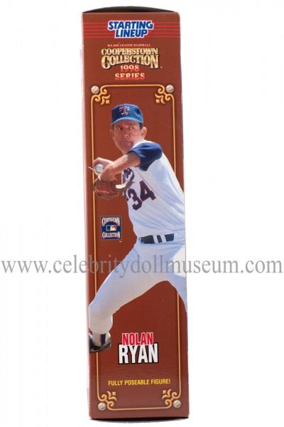 Nolan Ryan Action Figure box side