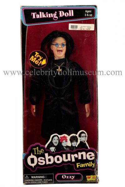 Ozzy Osbourne talking doll box front