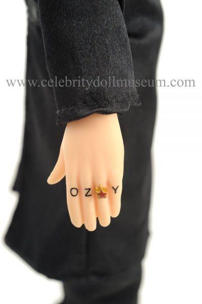 Ozzy Osbourne talking doll tattoo