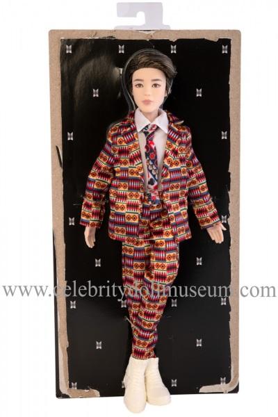 Jimin BTS doll box insert