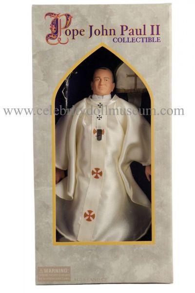 Pope John Paul II doll box front