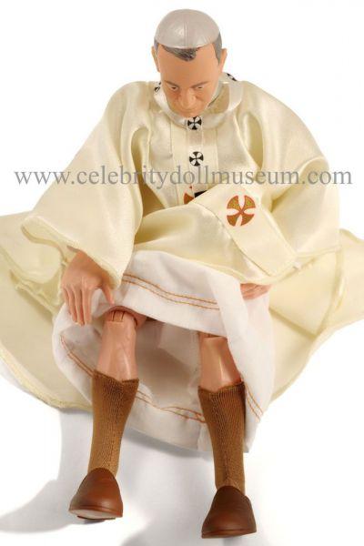 Pope John Paul II doll