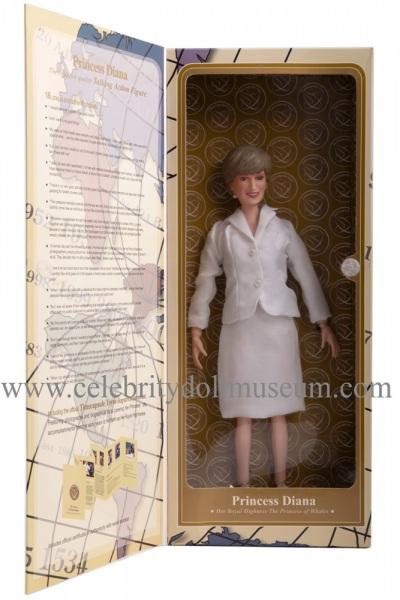 Princess Diana talking doll box inside