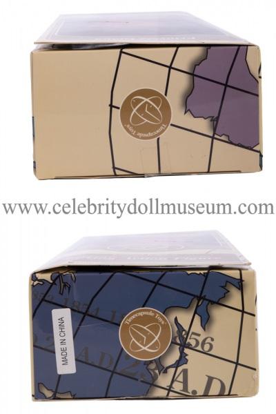Princess Diana talking doll box top and bottom