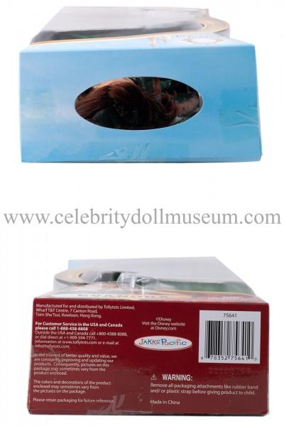 Rachel Weisz doll box top and bottom