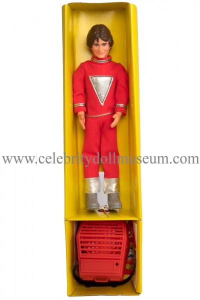 Robin Williams doll box insert