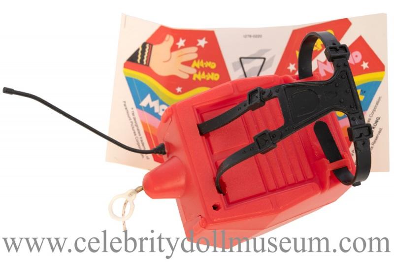 Robin Williams doll backpack