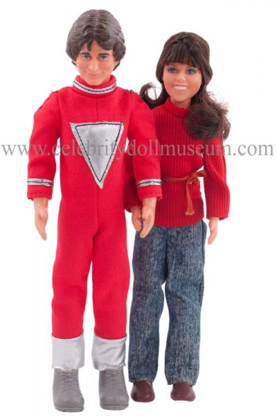 RobinWilliams and PamDawber dolls