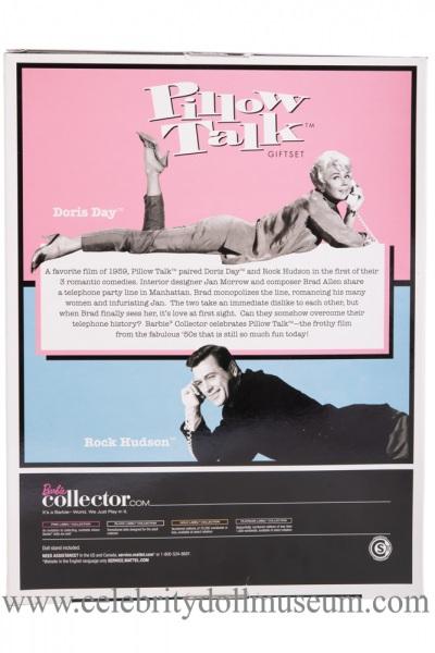 Doris Day and Rock Hudson dolls box back