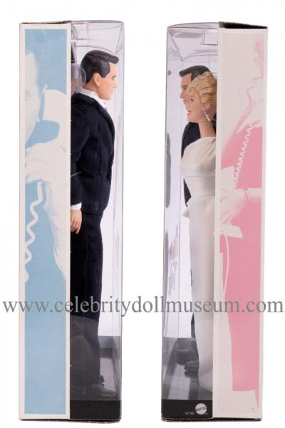 Doris Day and Rock Hudson dolls box sides