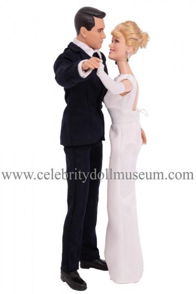 Doris Day and Rock Hudson dolls