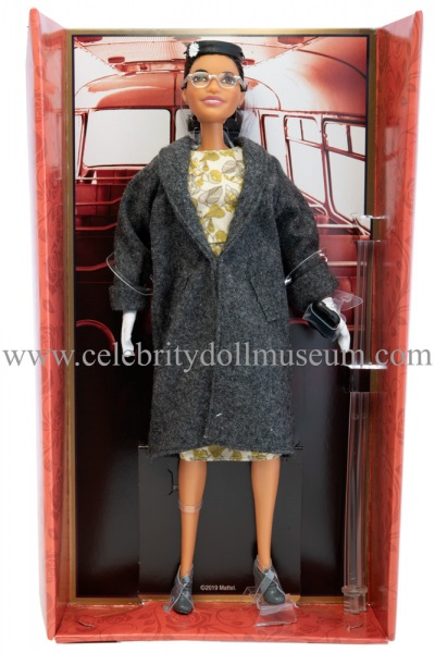 Rosa Parks doll box insert