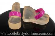 Rosario Dawson doll shoes