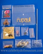 RuPaul doll accessories