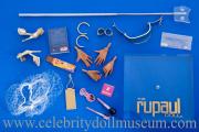 RuPaul doll accessories box