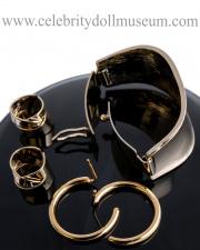 RuPaul doll jewelry