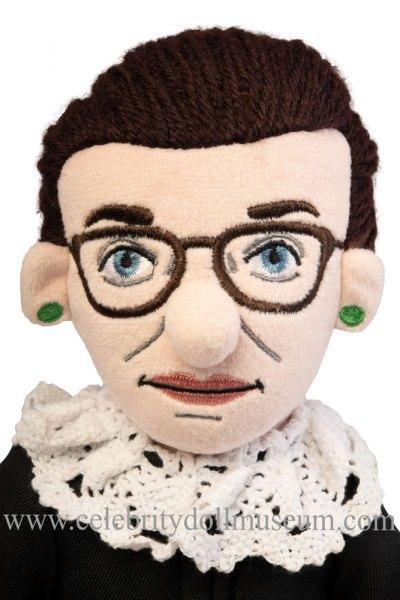 Ruth Bader Ginsburg doll