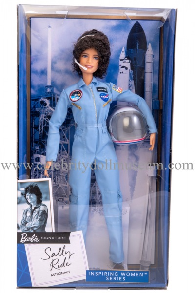 Sally Ride doll box front