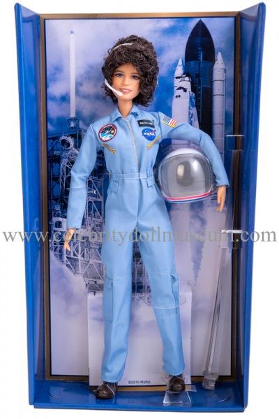 Sally Ride doll box insert
