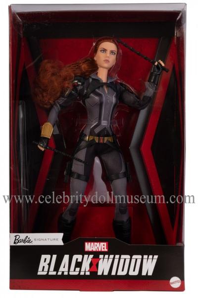 Scarlett Johansson doll (Amazon edition) box front