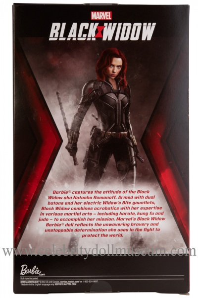 Scarlett Johansson doll (Amazon edition) box back