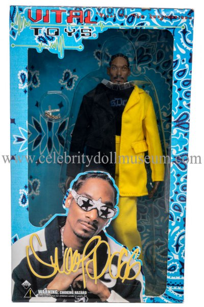 Snoop Dogg doll box