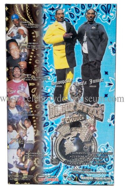 Snoop Dogg doll box back