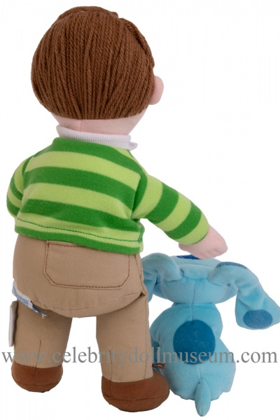 Steve and Blue from Blue's Clue plush dolls