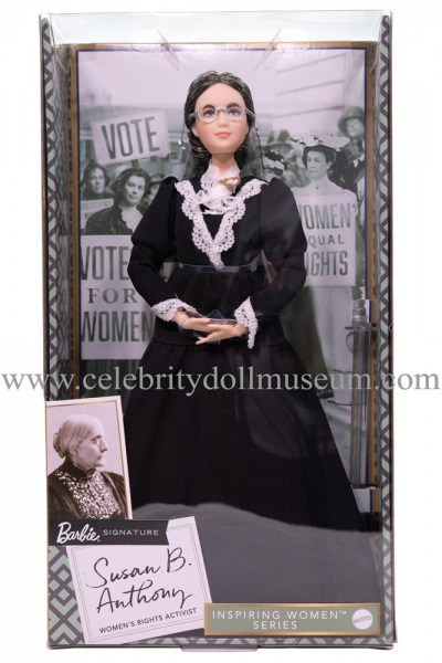 Susan B Anthony doll box front
