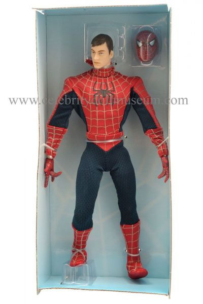 Tobey Maguire doll box insert