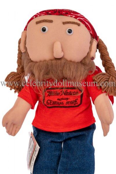 Willie Nelson doll